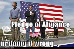Obama Pledge